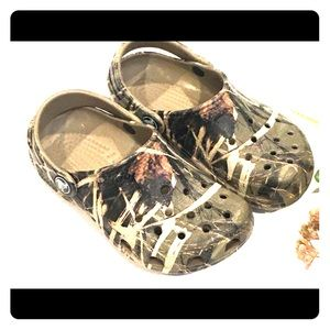 Boys Toddler Camouflage Crocs